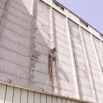 Ripristino calcestruzzo armato torre silos